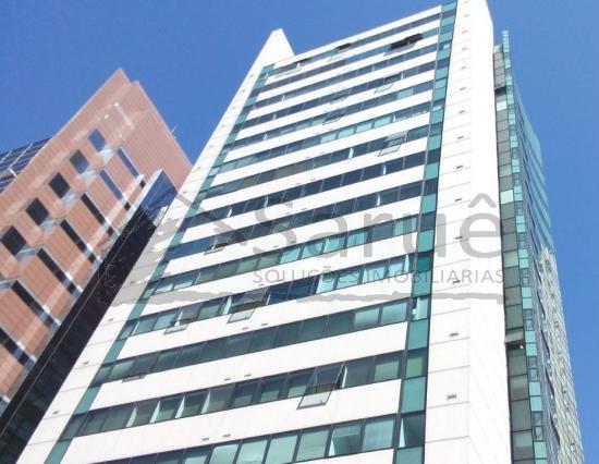 Lindo conjunto comercial com 64m² e 4 vagas junto a Paulista e Metro Brigadeiro, 2 salas, banheiro, deposito e copa em granito, mude já!!! R$ 4.400,00