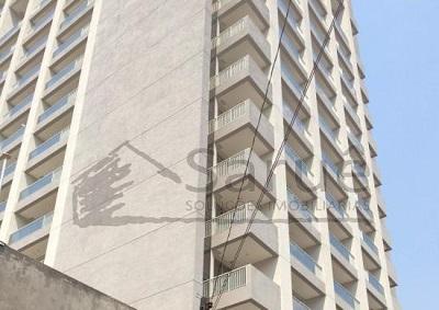 Conjunto comercial para locação na Vila Mariana 46m² em vão livre, varanda, 2 banheiros e vaga, em edifício moderno com segurança 24 horas – R$ 3.500,00