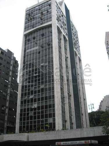 Conjunto comercial para locação no Paraíso com 20m² em edifício com controle de acesso e segurança, junto a estação Brigadeiro do Metrô, apenas R$ 800,00!!