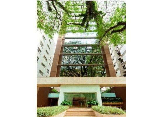 Conjunto comercial com 93m² para locação no Paraíso – Edifício moderno em excelente localização junto ao Hospital Santa Catarina e metro. R$ 7.500,00